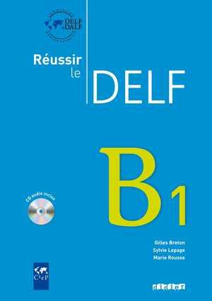 portada del libro reussir le delf B1