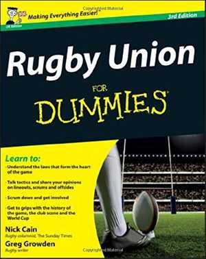 portada del libro rugby union for dummies