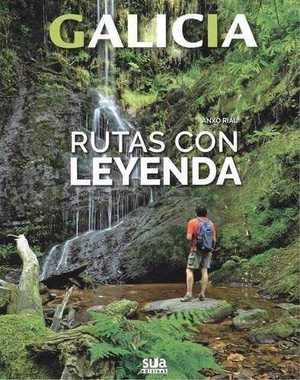 portada del libro rutas con leyenda
