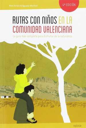 portada del libro rutas con niños en la comunidad valenciana