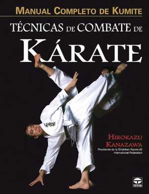 portada del libro técnicas de combate de kárate