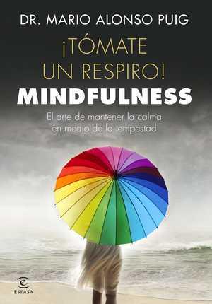 portada del libro tómate un respiro mindfulness