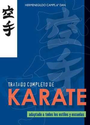 portada del libro tratado completo de karate