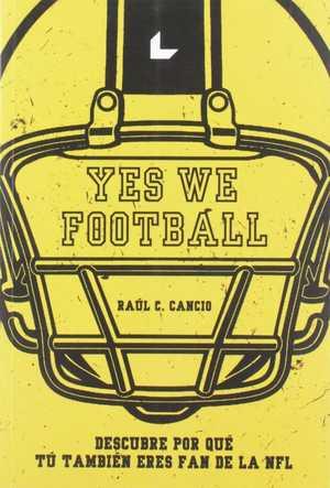 portada del libro yes we football