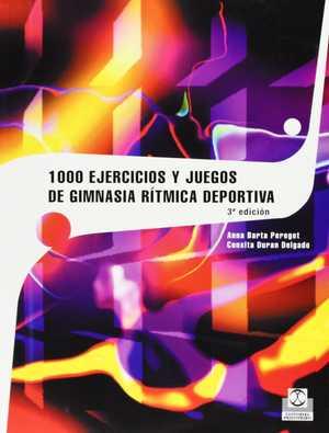 portada del libro1000 ejercicios y juegos de gimnasia rítmica deportiva