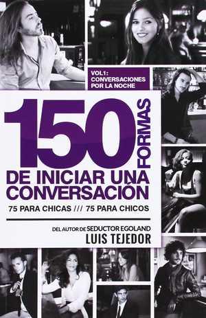 portada del libro 150 formas de Iniciar una conversación