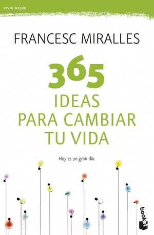 portada del libro 365 ideas para cambiar tu vida