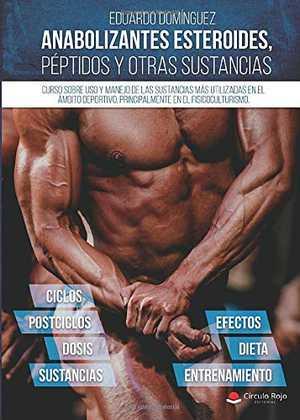 Portada del libro anabolizantes, esteroides, péptidos y otras sustancias