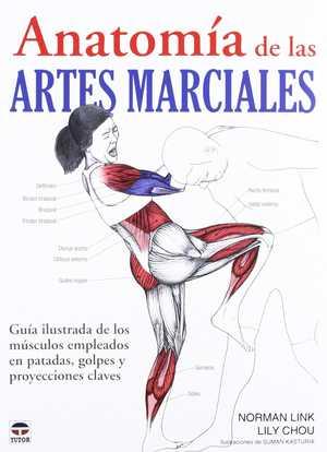 portada del libro anatomía de las artes marciales