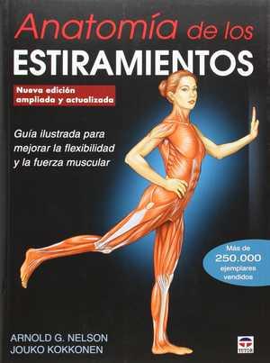 portada del libro anatomía de los estiramientos