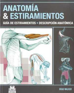 portada del libro anatomía y estiramientos