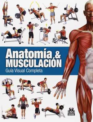 Portada del libro anatomía y musculación