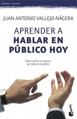 portada del libro aprender a hablar en publico hoy