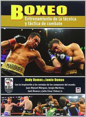 portada del libro boxeo entrenamiento de la técnica y táctica de combate
