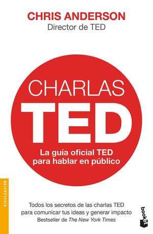 portada del libro charlas TED