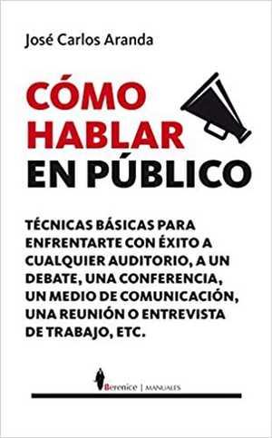 portada del libro como hablar en público