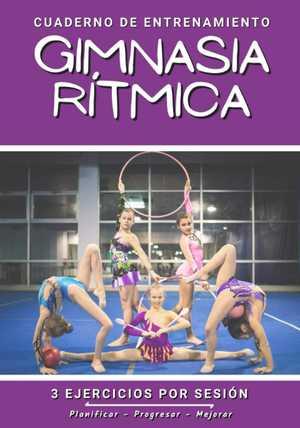 portada del libro cuaderno de entrenamiento gimnasia rítmica