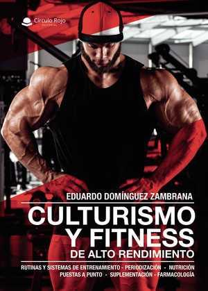 Portada del libro culturismo y fitness de alto rendimiento