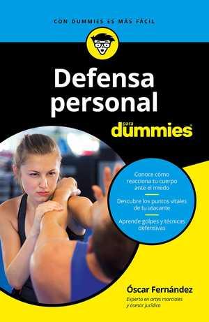 Portada del libro defensa personal para dummies