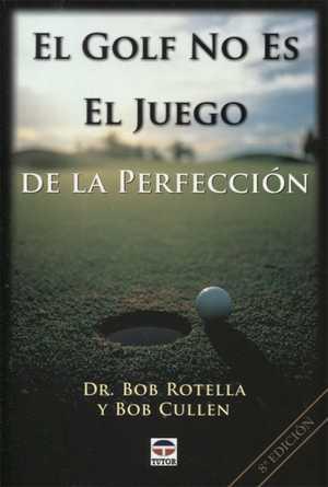 portada del libro el golf no es el juego de la perfección