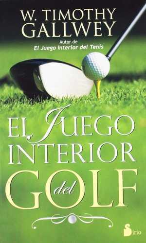 portada del libro el juego interior del golf