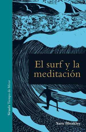 portada del libro el surf y la meditación