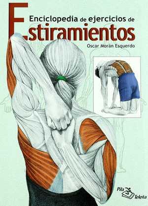 portada del libro estiramientos enciclopedia de estiramientos