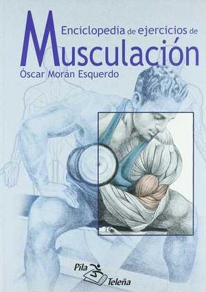 Portada del libro enciclopedia de ejercicios de musculación