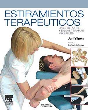 portada del libro estiramientos terapéuticos en el deporte y en las terapias manuales