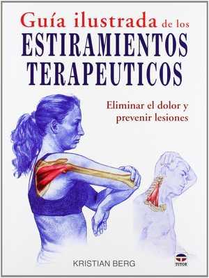 portada del libro guía ilustrada de los estiramientos terapéuticos