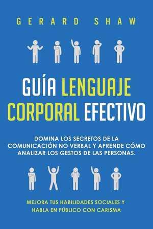 portada del libro guia lenguaje corporal efectivo