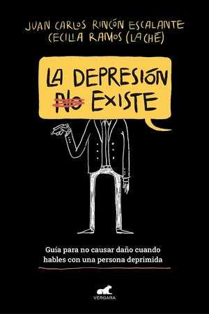 portada del libro la depresión no existe