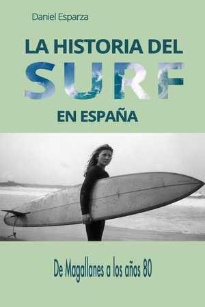 portada del libro historia del surf en España
