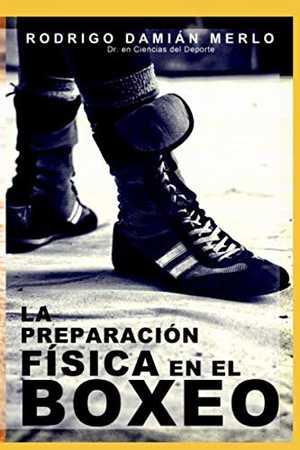 portada del libro la preparación física en el boxeo