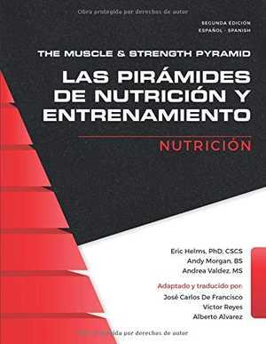 Portada del libro las pirámides de nutrición y entrenamiento