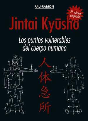 portada del libro jintai kyüsho los puntos vulnerables del cuerpo humano