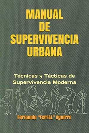 Portada del libro manual de supervivencia urbana