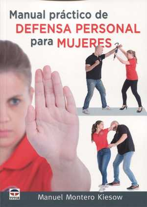 Portada del libro manual práctico de defensa personal para mujeres