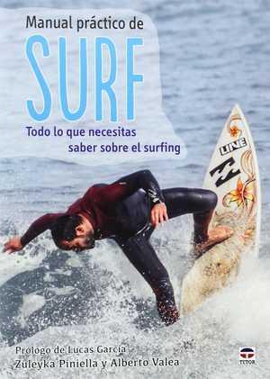 portada del libro manual práctico de surf