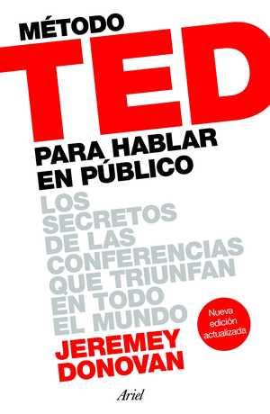 portada del libro método TED para hablar en público