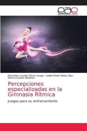 portada del libro percepciones especializadas en la gimnasia rítmica