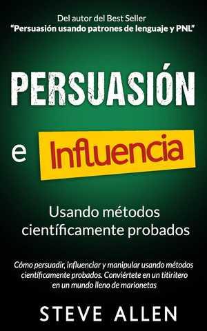 portada del libro persuasión e influencia
