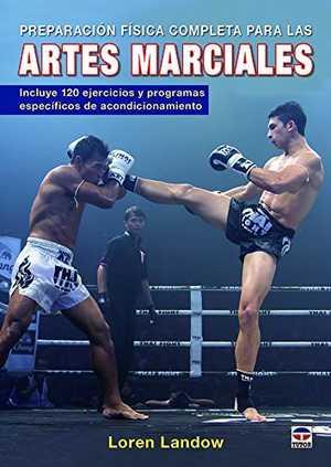 portada del libro preparación física completa para las artes marciales