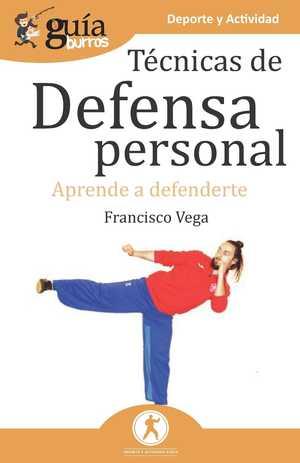 Portada del libro técnicas de defensa personal