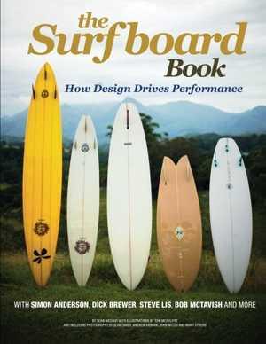 portada del libro the surfboard book