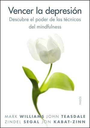 portada del libro vencer la depresión