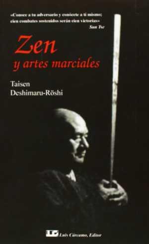 portada del libro zen y artes marciales