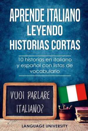 portada del libro aprende italiano leyendo historias cortas