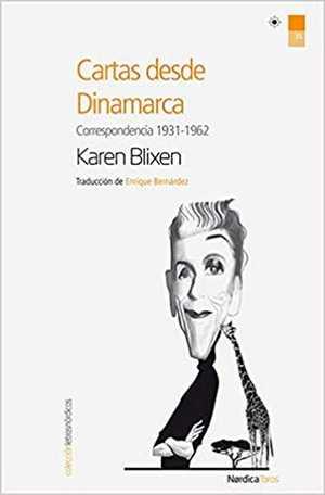 portada del libro cartas desde Dinamarca