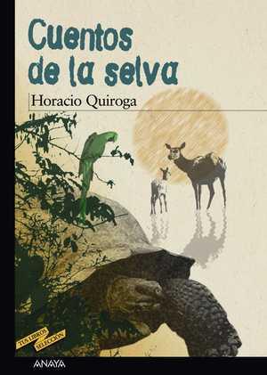portada del libro cuentos de la selva